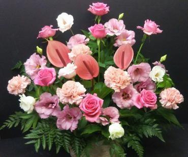 本日お届けのお花です